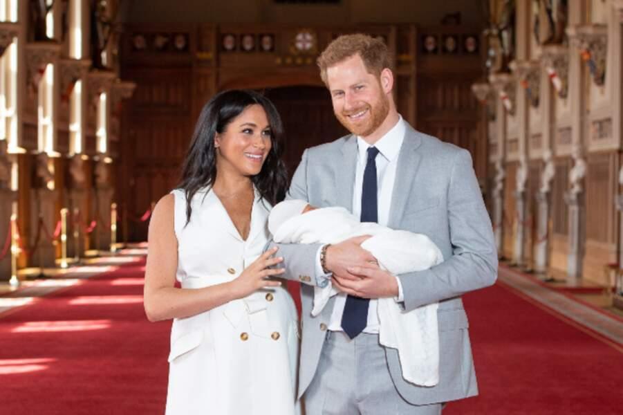 …le petit Archie faisait déjà la fierté de ses parents.