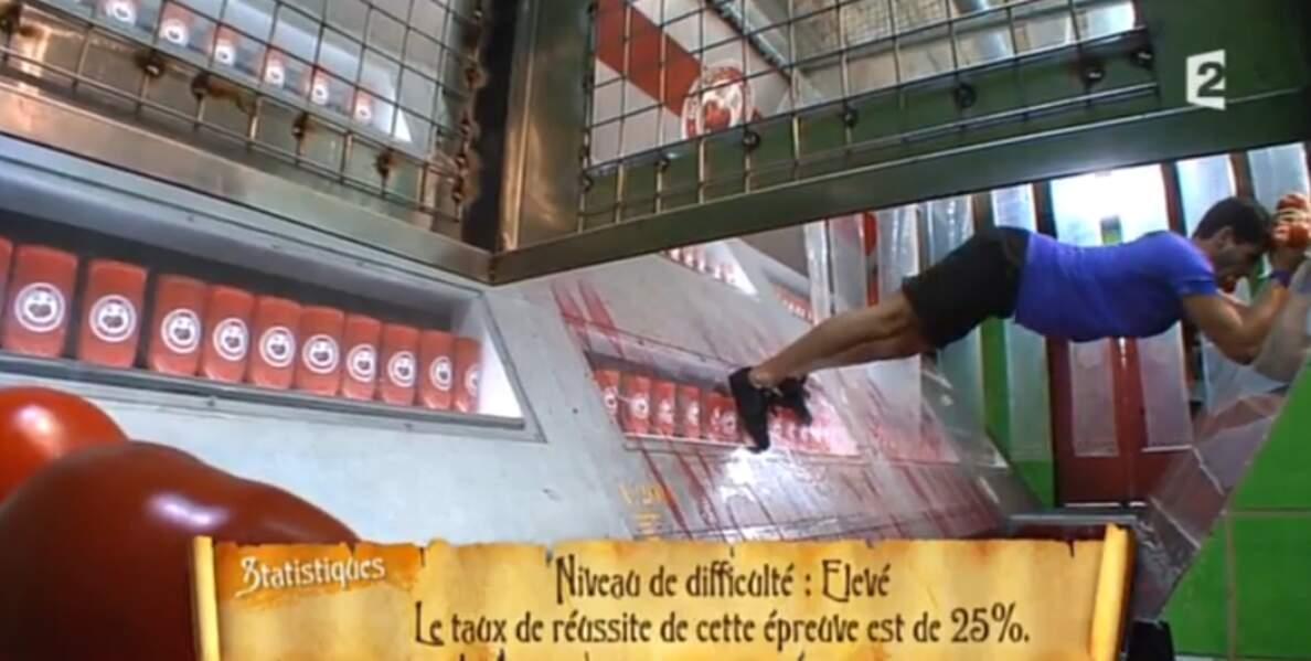 Christophe Licata héroïque (oui, héroïque !) dans l'épreuve de la ketchuperie