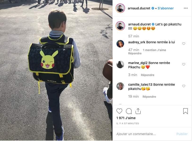Arnaud Ducret difficile de résister à la tentation Pokémon