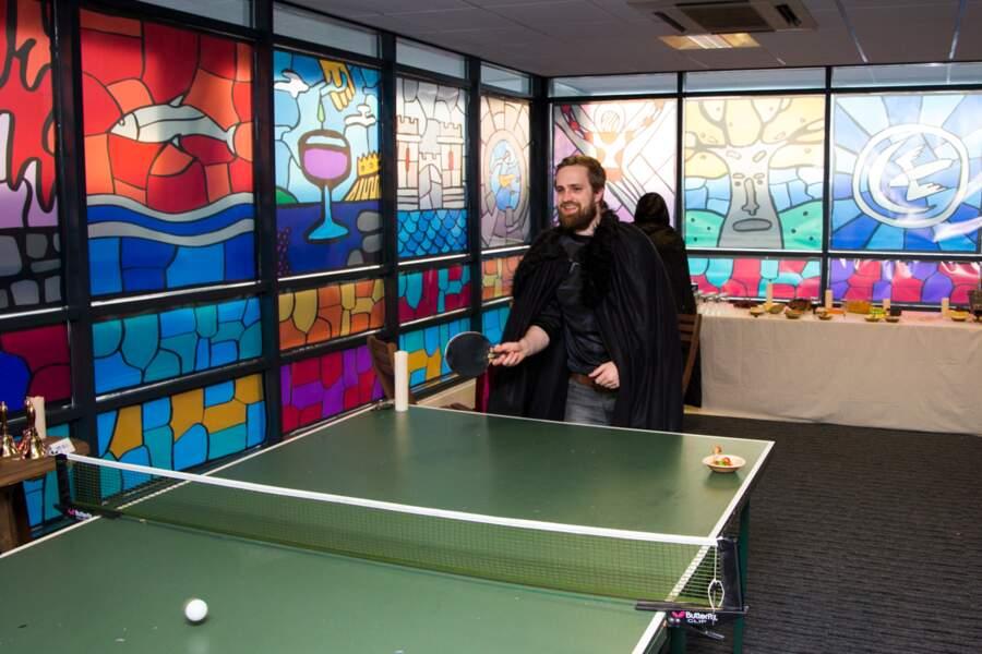 A la pause, c'est donc ping-pong...