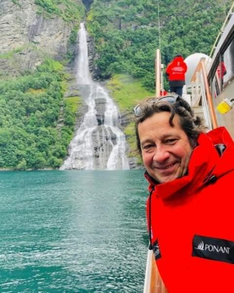 Laurent Gerra a vu des cascades en Norvège.