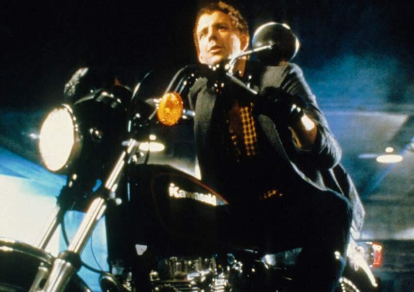 On ne le reconnaît plus en Harley Davidson...