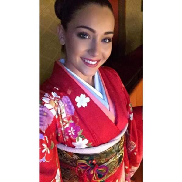 Autre bomba : Charlotte Pirroni, Miss Côte d'Azur 2014 qui concourt à Miss International 2015.