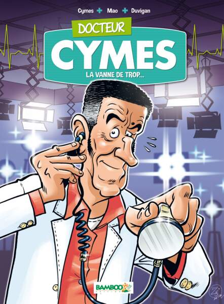 Alerte, Michel Cymès débarque en bande-dessinée !