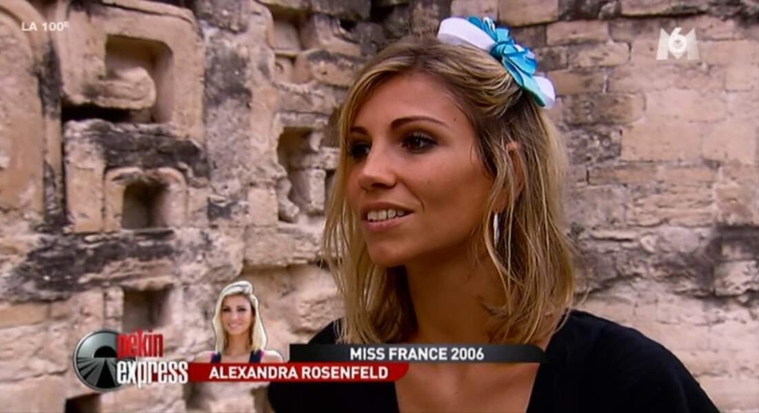 """""""Je ne me suis pas ennuyée avec eux"""", confie simplement Alexandra. Ah bah ça...."""
