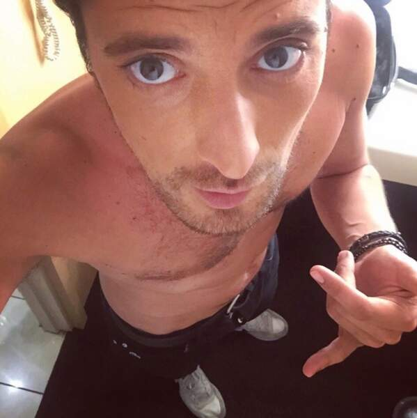 On se laisse avec du sexy : Vincent Cerutti a fait tomber la chemise.