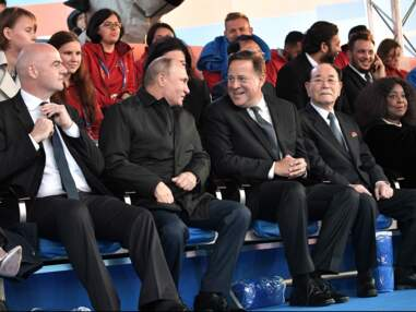 Coupe du monde : le faux Kim Jong Un, Agathe Auproux, Maradona... Les people en tribunes !