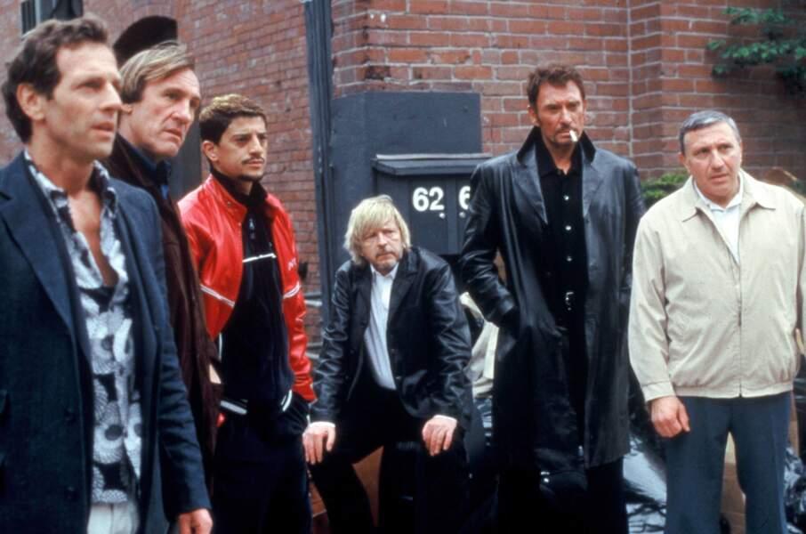 Jolie brochette d'acteurs pour Wanted (2003) : Johnny, mais aussi Renaud, Gérard Depardieu, Stephane Freiss...