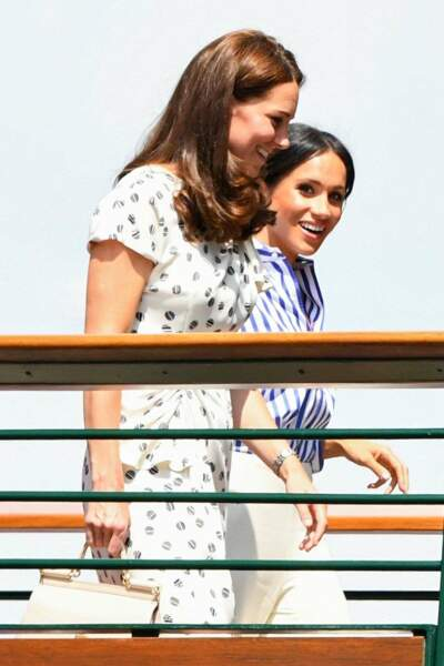 Ce 14 juillet, Kate Middleton et Meghan Markle ont passé la journée ensemble à Wimbledon