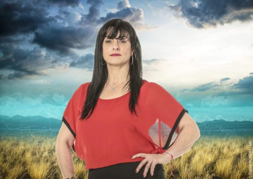 Christine, la prof de judo de 50 ans