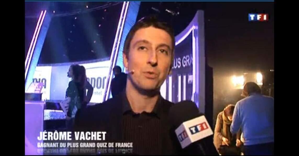 26. Jérôme, 260 000 €, Le plus grand quiz de France, TF1 (2011)