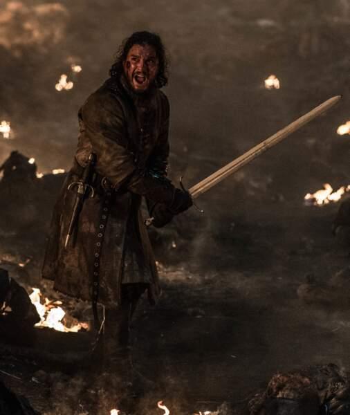 Contre toute attente, ce n'est pas Jon Snow qui viendra au bout du Roi de la nuit, même s'il a bien lutté