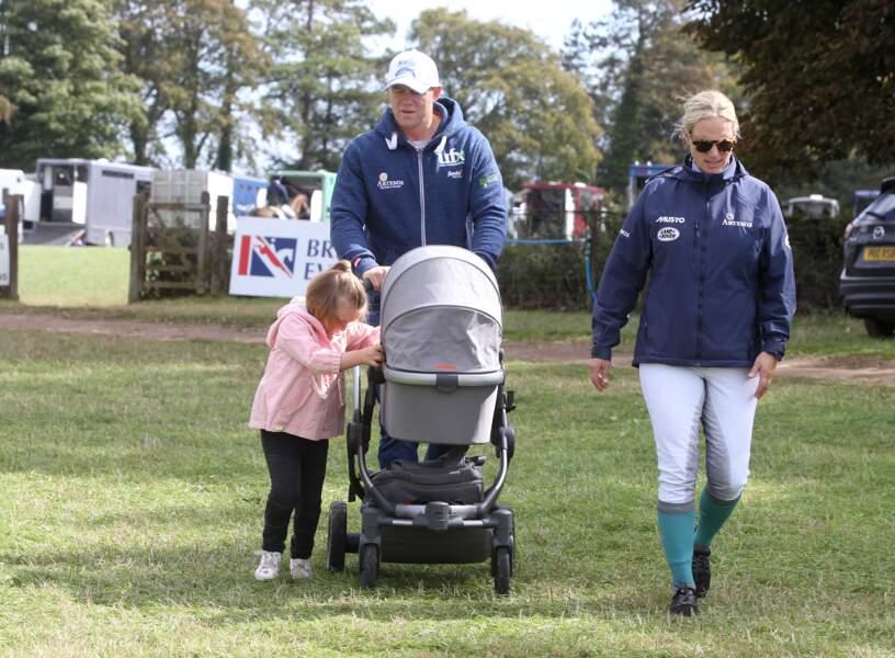 Zara Philipps,petite-fille de la reine Elisabeth, et son mari Mike Tindall, ancien rugbyman, ont agrandi la famille