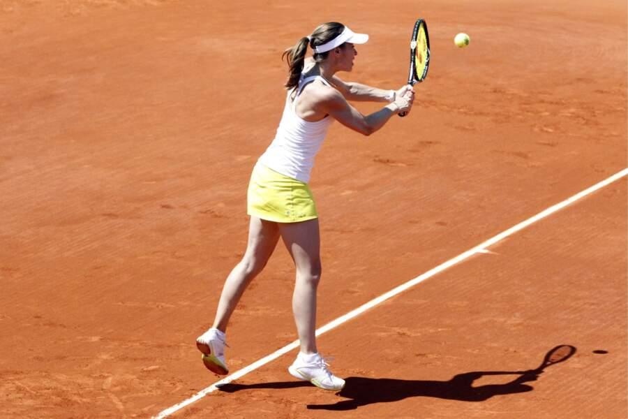 Martina Hingis participait aussi au Tournoi des Légendes