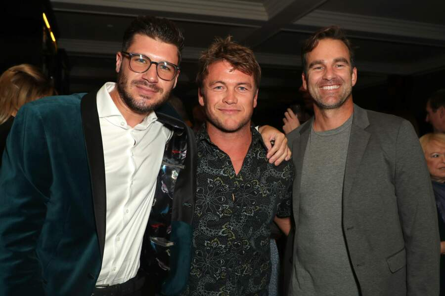James Nunn, Luke Hemsworth et Eric Pascal
