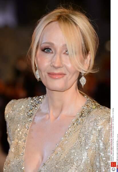La maman de la saga Harry Potter, J. K. Rowling, n'était pas la seule à avoir opté pour le lamé or