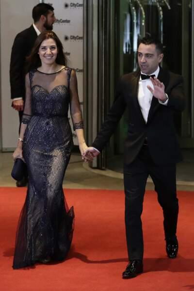 L'Espagnol Xavier Hernandez et son épouse Nuria Cunillera,