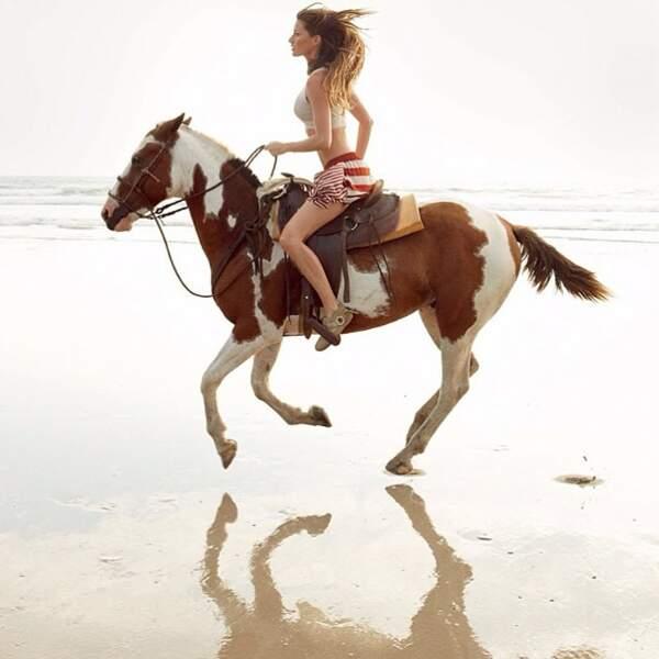 Qui monte ce cheval avec l'élégance de Gandalf ?