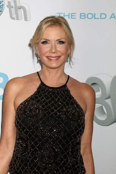 À 55 ans, Katherine Kelly Lang (Brooke) est toujours aussi rayonnante