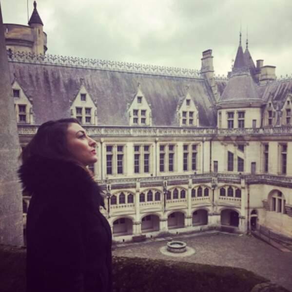 Rachel Legrain-Trapani a eu la vie de château à Pierrefonds dans l'Oise.
