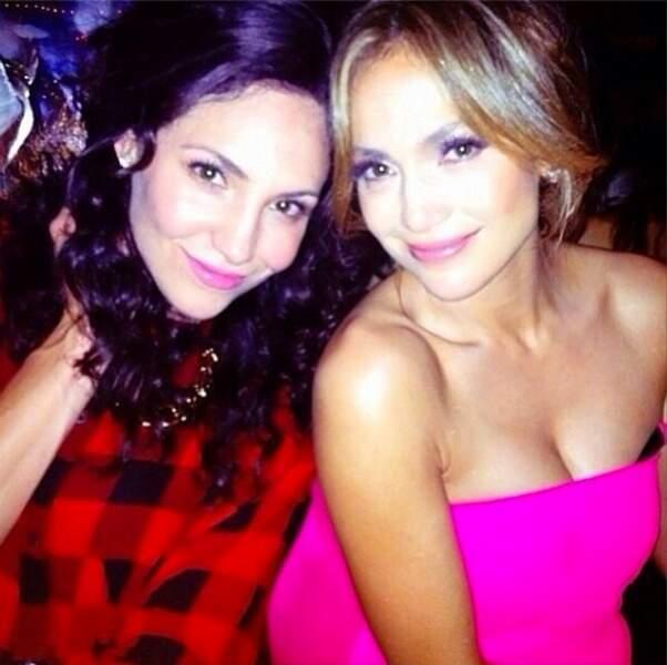 Après avoir vu Jennifer Lopez au naturel cette semaine, retrouvez-la maquillée et brushée !