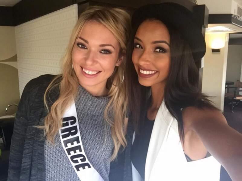 … et un autre avec Miss Grèce !
