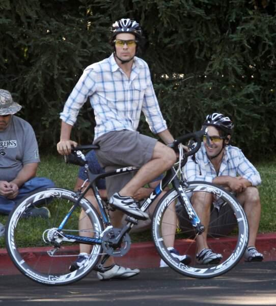 """Dans """"40 ans : mode d'emploi"""", Paul Rudd a aussi une doublure qui rejoue les scènes périlleuses... en vélo"""
