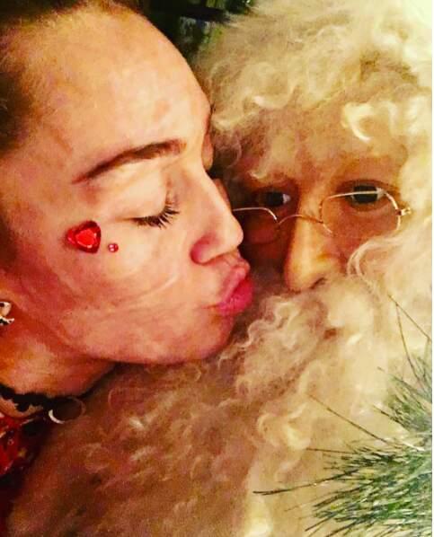 Miley Cyrus a-t-elle été assez sage cette année ?