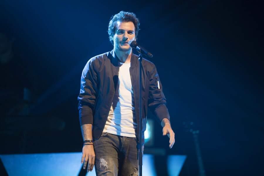 Amir est arrivé en finale de la troisième saison de The Voice en 2014 sur TF1