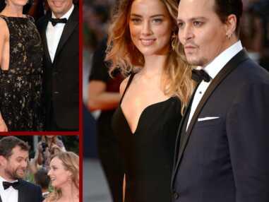 Johnny Depp main dans la main avec Amber Heard, Mark Ruffalo amoureux… Les stars in love à Venise
