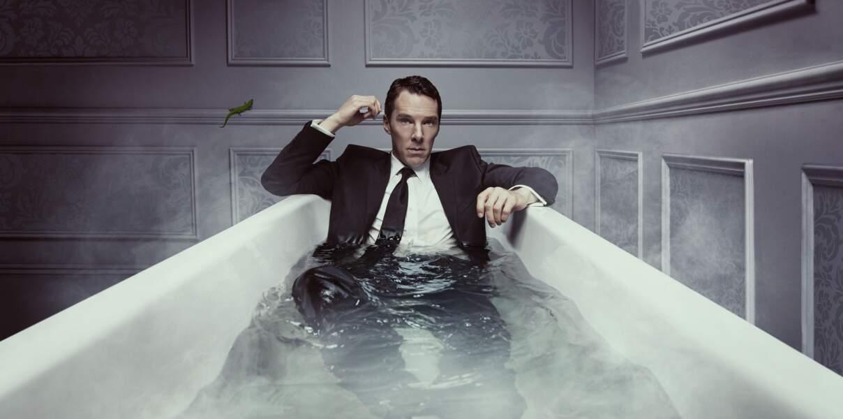 """Un personnage sombre interprété par le troublant Benedict Cumberbatch: """"Patrick Melrose"""" (Canal+, saison 1)."""