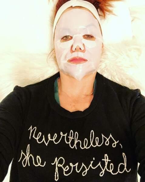 Et que vous avez prévu un petit moment pour vous relaxer, comme Debra Messing.