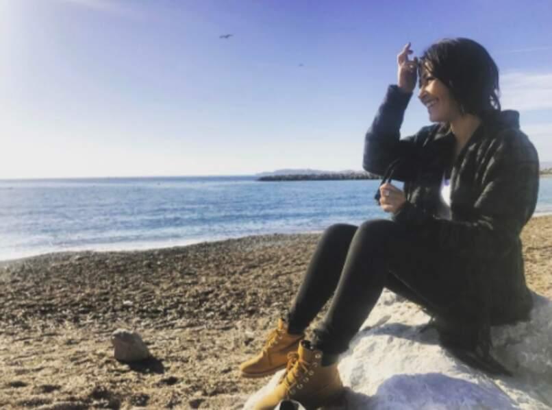 Karima Charni a vu la mer à Marseille.