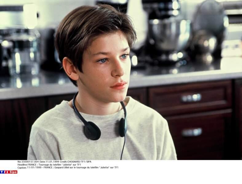 Pas très à l'aise pour ses débuts dans le téléfilm Juliette (1998)