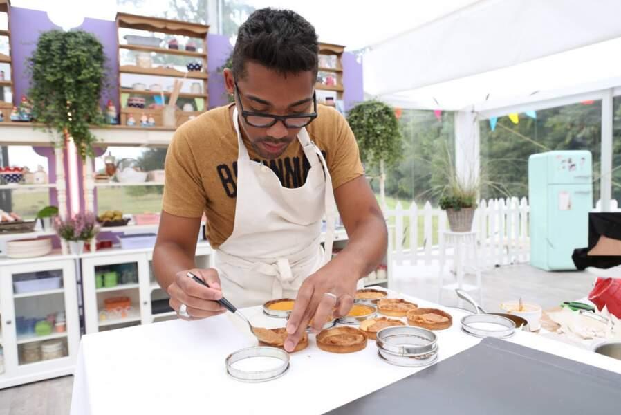 Wilfried cuisine depuis tout petit