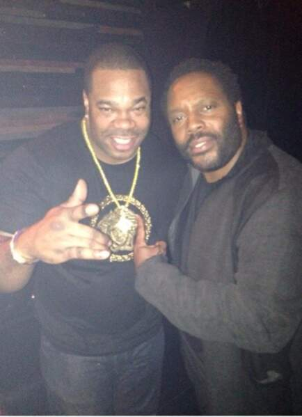 Busta Rhymes et Tyresse (Chad L. Coleman) are IN DA PLACE !
