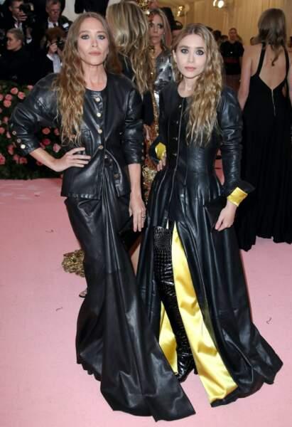Autre duo de charme avec les frangines Olsen.