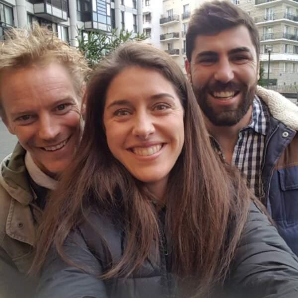 Sébastien, Claire et Vincent sont arrivés trois jours après les autres...