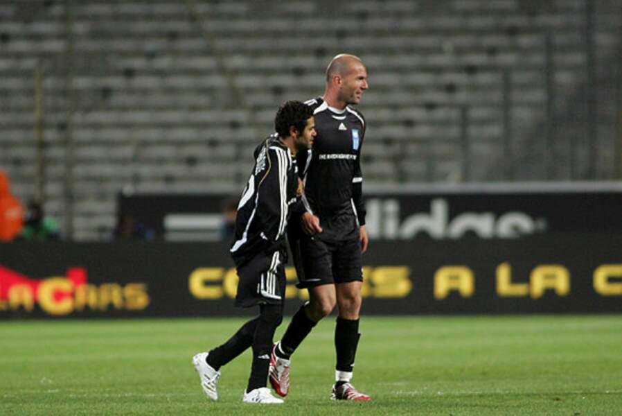 Jamel Debbouze et son ami de Zinedine Zidane