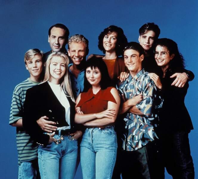 Elle est l'une des stars de la bande de la série culte des années 90