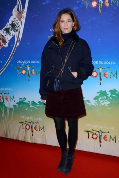 La comédienne Mélanie Bernier
