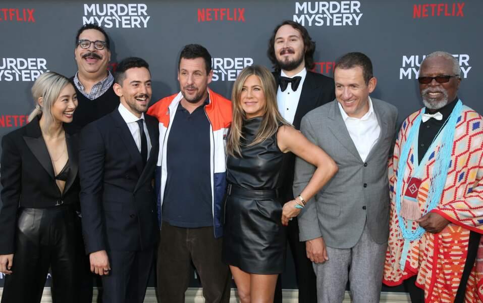 Toute l'équipe de Murder Mystery réunie