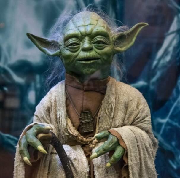 Maitre Yoda, à la tête des Jedi