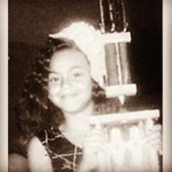 Oh Beyoncé jeune, comme elle est mignonne !