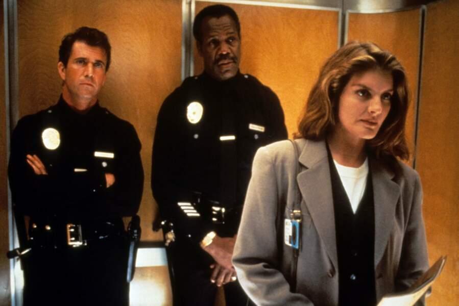 Dans L'arme fatale 3, Rene Russo, alias l'agent Lorna Cole, charmait Mel Gibson-Riggs