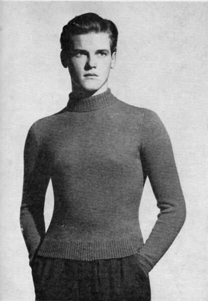 Cet hiver, la mode est au slim, on porte son pull-over près du corps…
