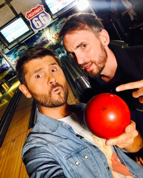 Grosse teuf : les Christophe s'éclatent au bowling !
