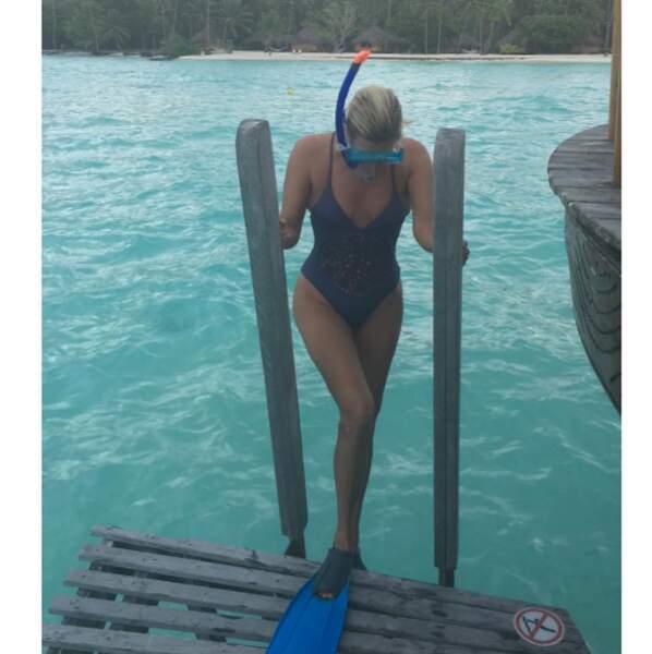 Et Yolanda Hadid, maman de Gigi et Bella, s'éclate toujours à Bora-Bora.