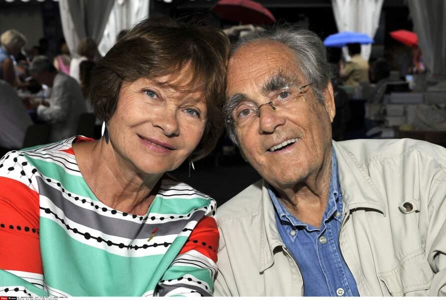 En 2014, il avait refait sa vie avec Macha Méril (ici une photo prise au festival du livre de Nice en 2014)