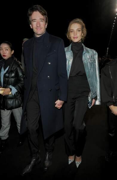 Antoine Arnault et Natalia Vodianova au défilé Dior Homme